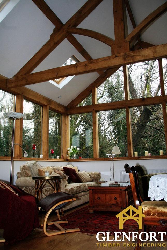 Oak Sunroom, Co.Galway - Glenfort